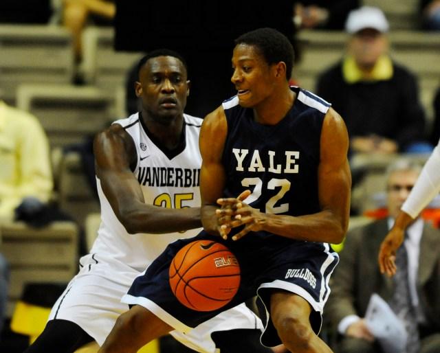 USP NCAA BASKETBALL: YALE AT VANDERBILT S BKC USA TN