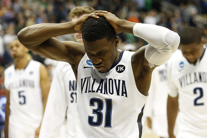 No. 1 seed Villanova is out. (USA TODAY Sports)