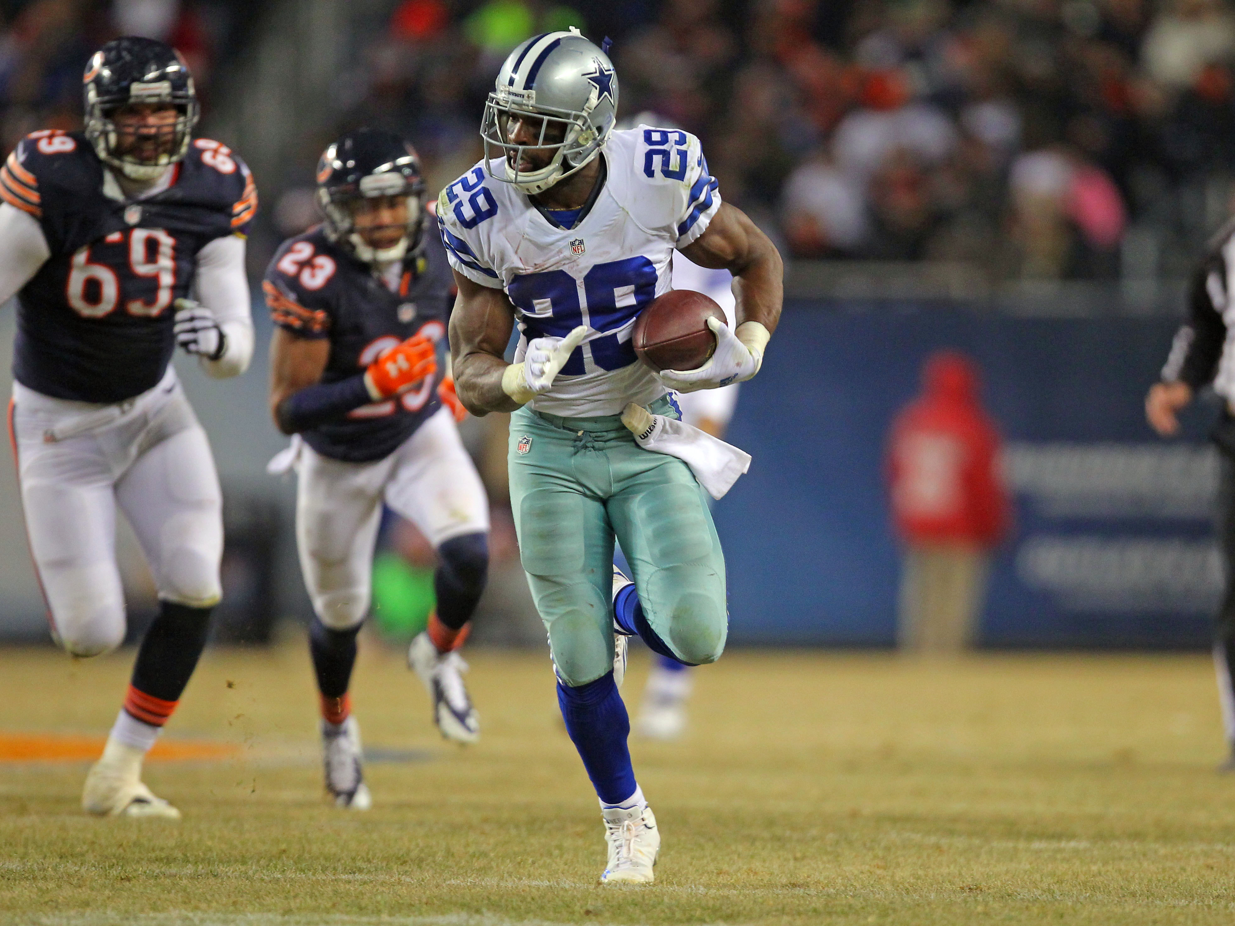 Finding additional help at running back after losing DeMarco Murray is a priority for the Cowboys. (Dennis Wierzbicki, USA TODAY Sports)