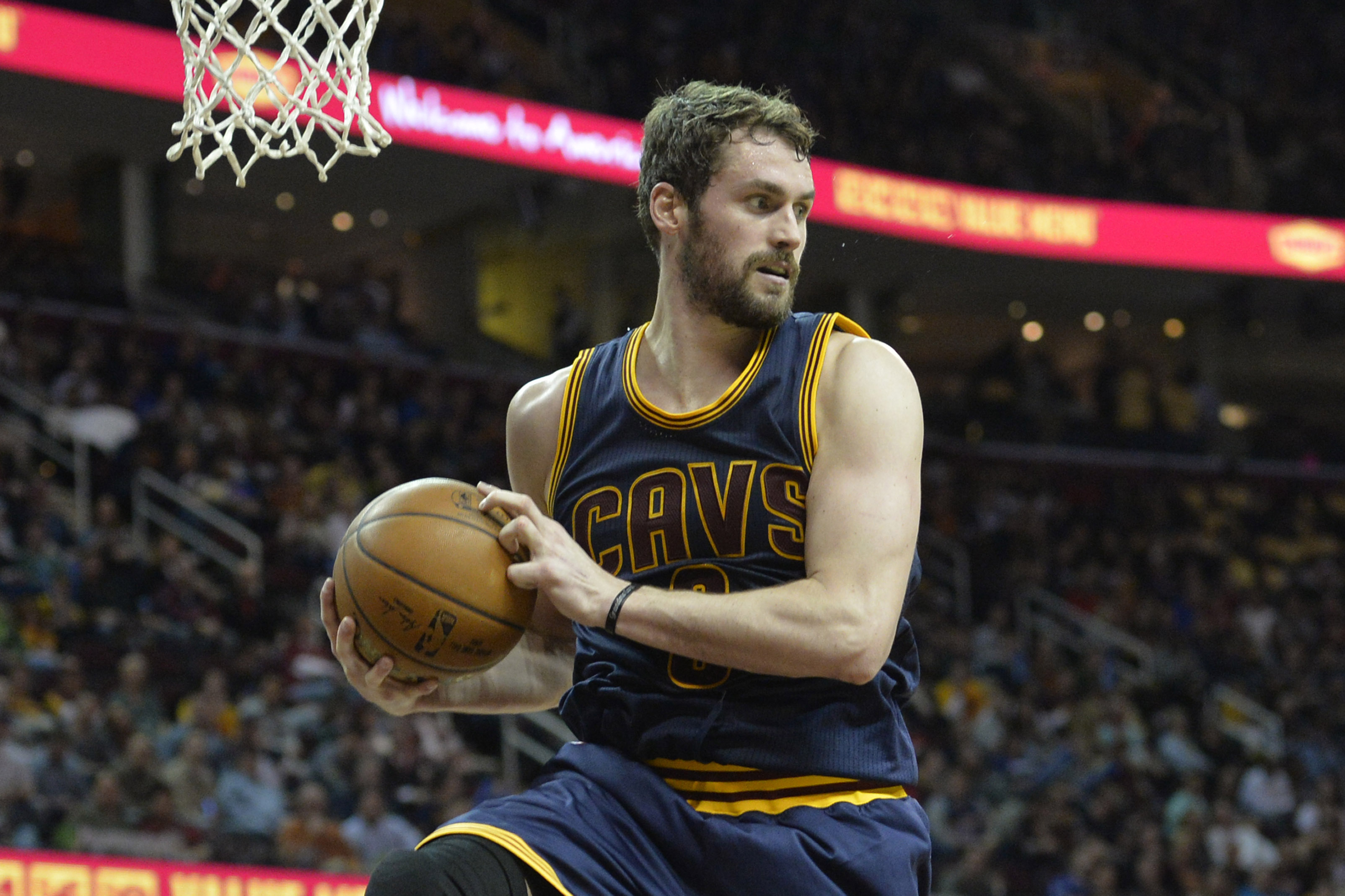 Kevin Love will opt out of his current contract, according to a person familiar with the situation. (Photo: David Richard, USA TODAY Sports)