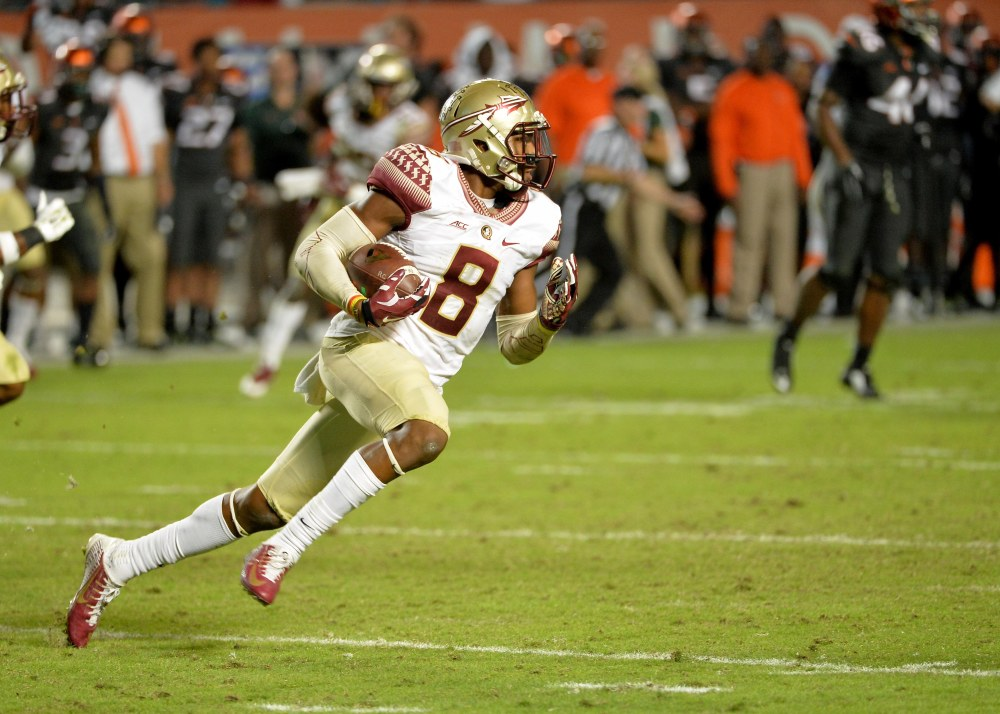 Florida State's Jalen Ramsey is one of the best defensive players not only in the ACC but in college football at large. (Steve Mitchell / USA TODAY Sports)