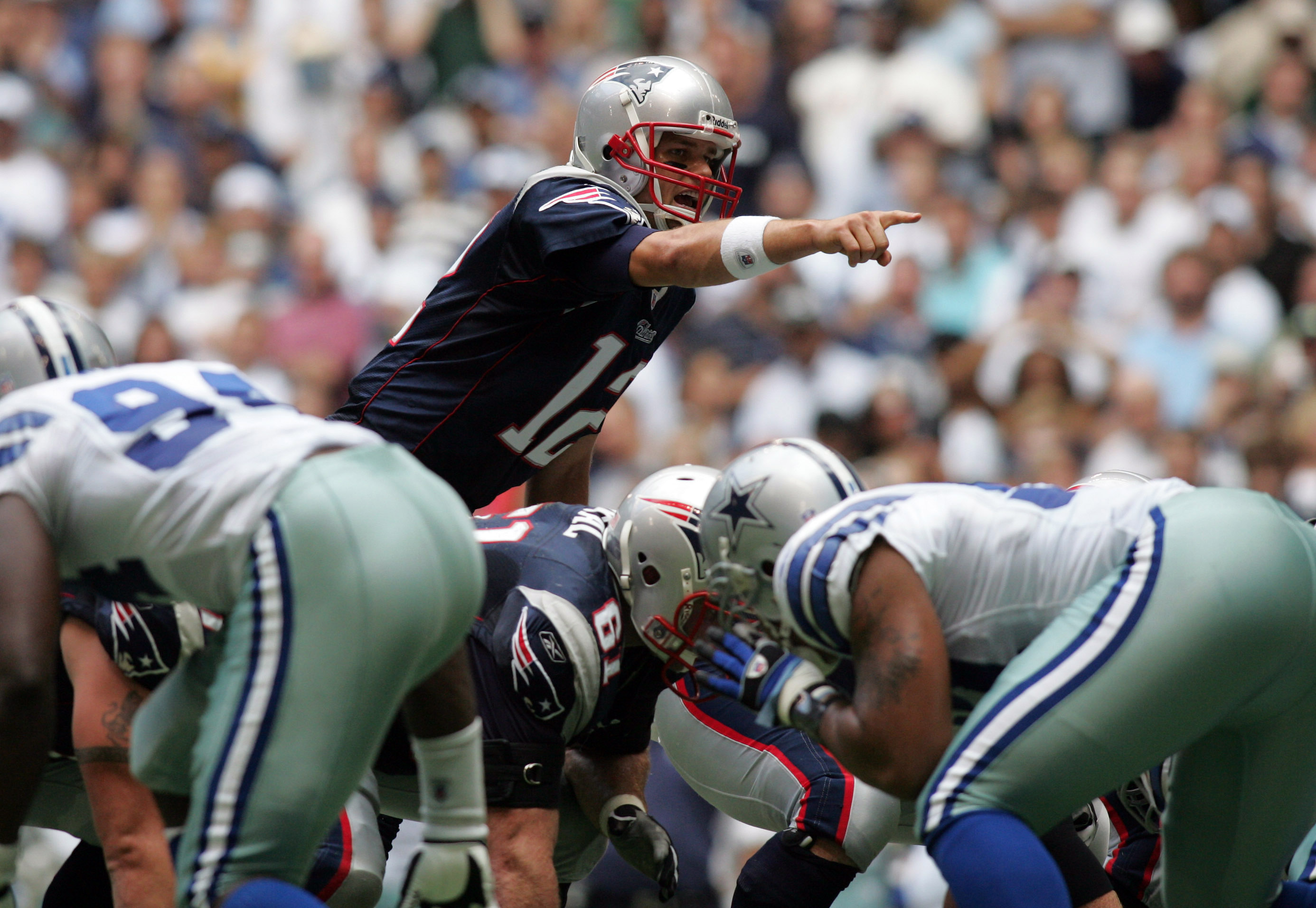 Patriots QB Tom Brady threw 5 TD passes the last time he played in Dallas. (Tim Heitman, USA TODAY Sports)