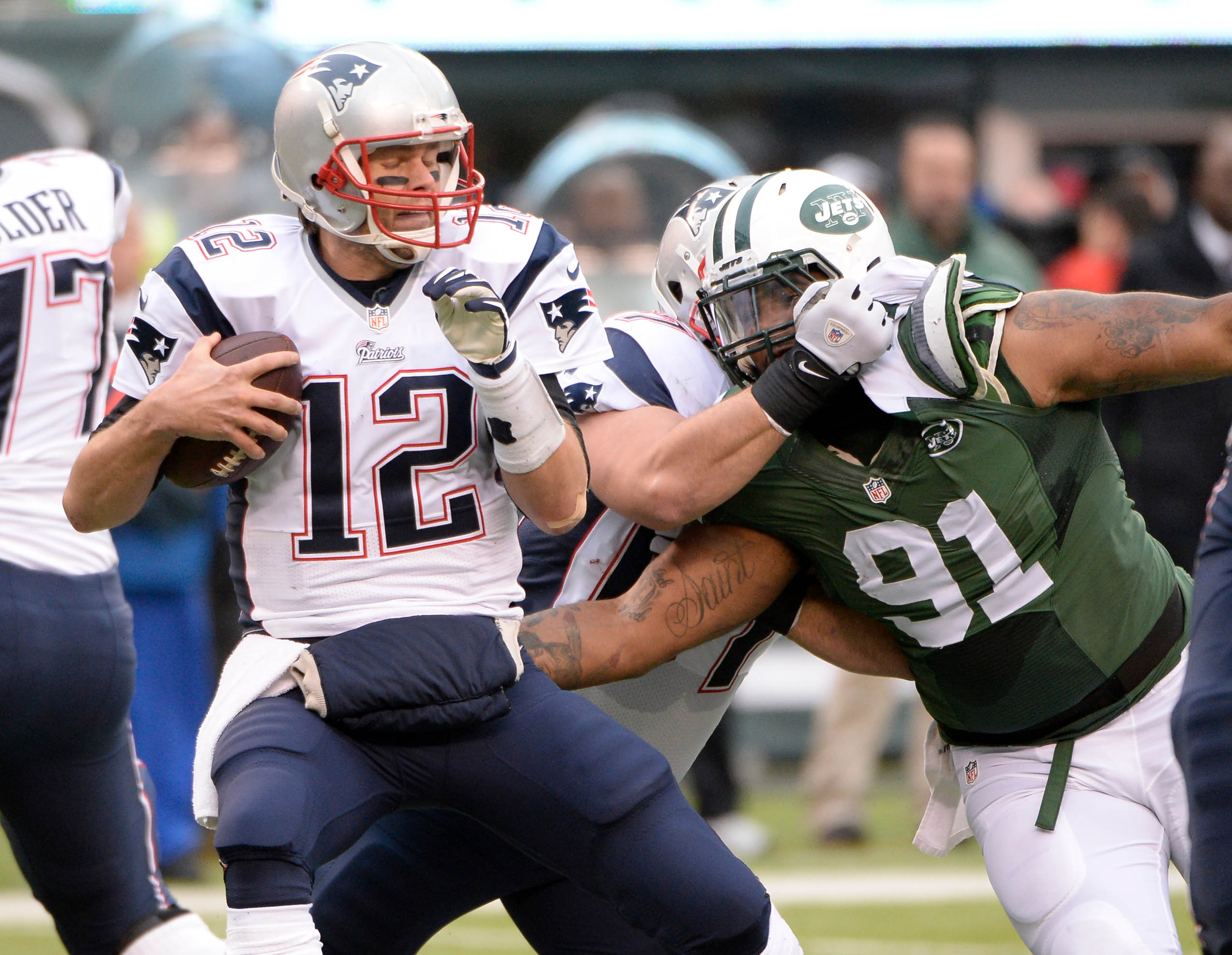 Can DL Sheldon Richardson and the Jets' No. 1 defense bring down Tom Brady and the Patriots?