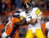 Steelers QB Ben Roethlisberger (7) and Broncos OLB Von Miller will meet Sunday with plenty on the line for both of their clubs. (David Zalubowski, AP)