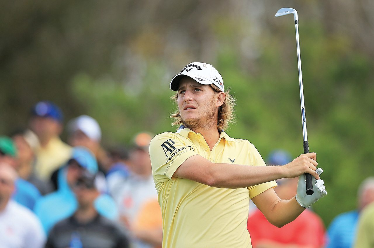 Emiliano Grillo during the Arnold Palmer Invitational at Bay Hill Club and Lodge.