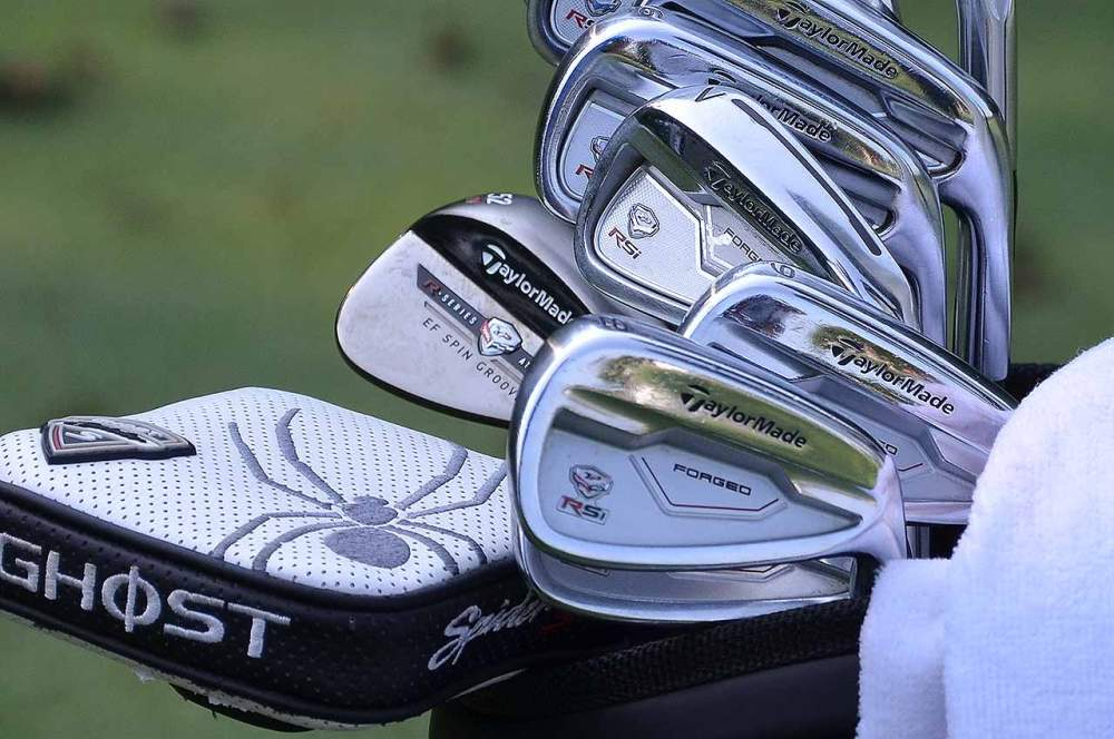 Jason Day's TaylorMade irons