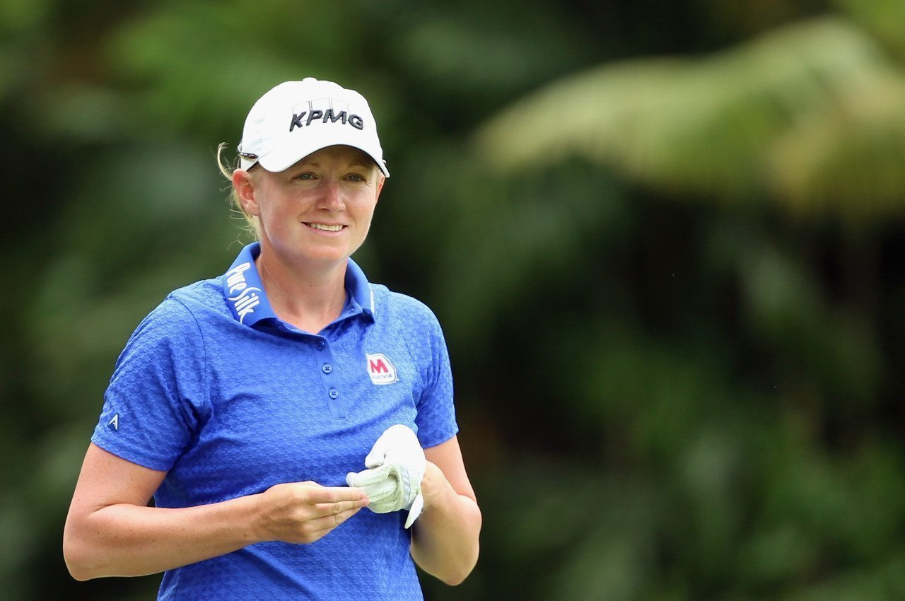 Stacy Lewis has seen a change on the golf course as her priorities have altered.