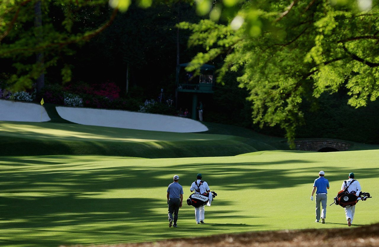 Augusta National's 13th hole