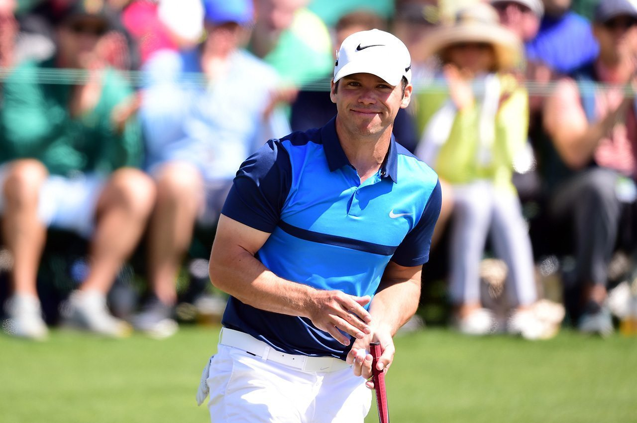 Paul Casey, shown during the first round of the 2016 Masters