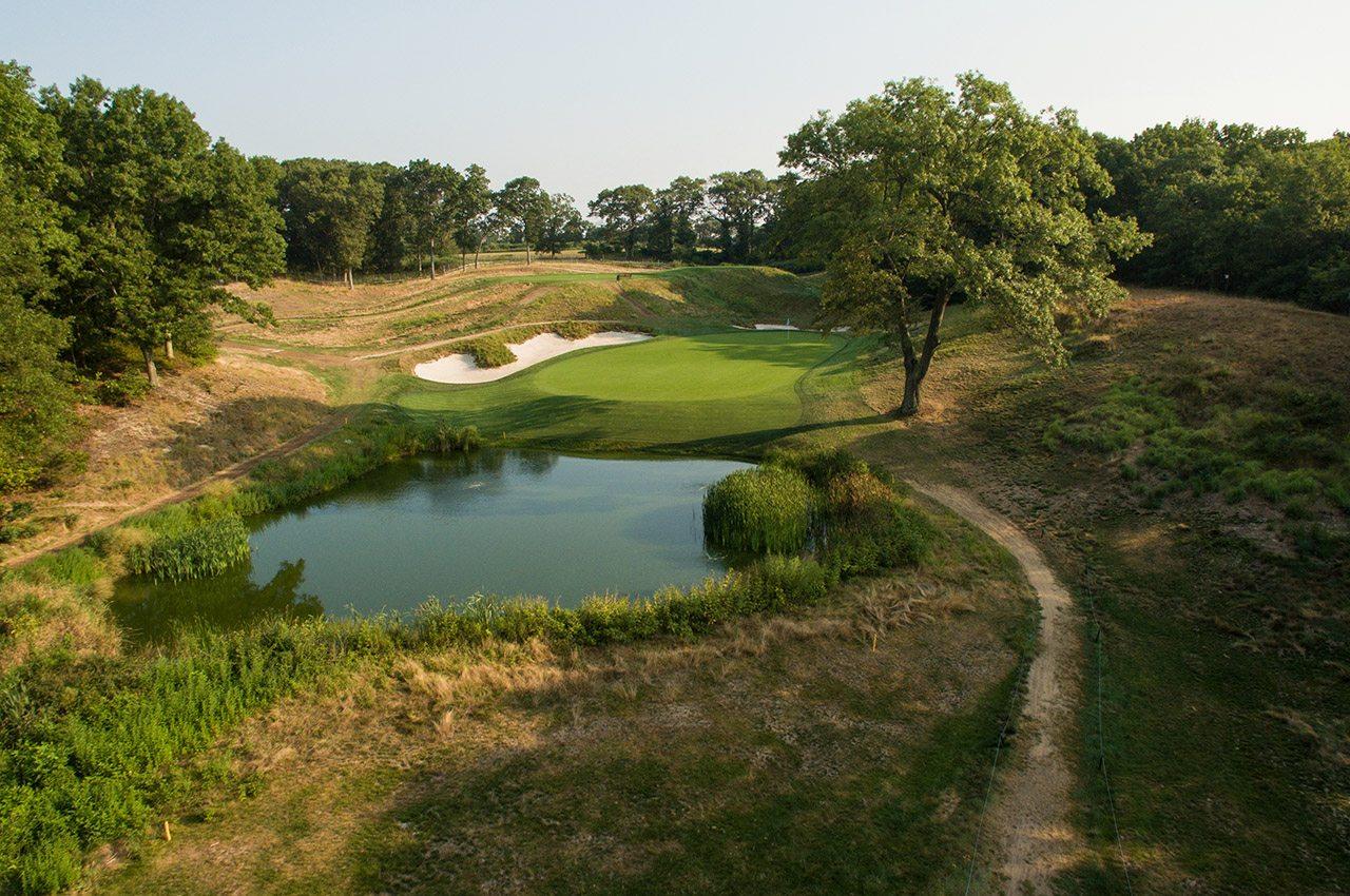 Bethpage Black's scenic par-3 eighth hole