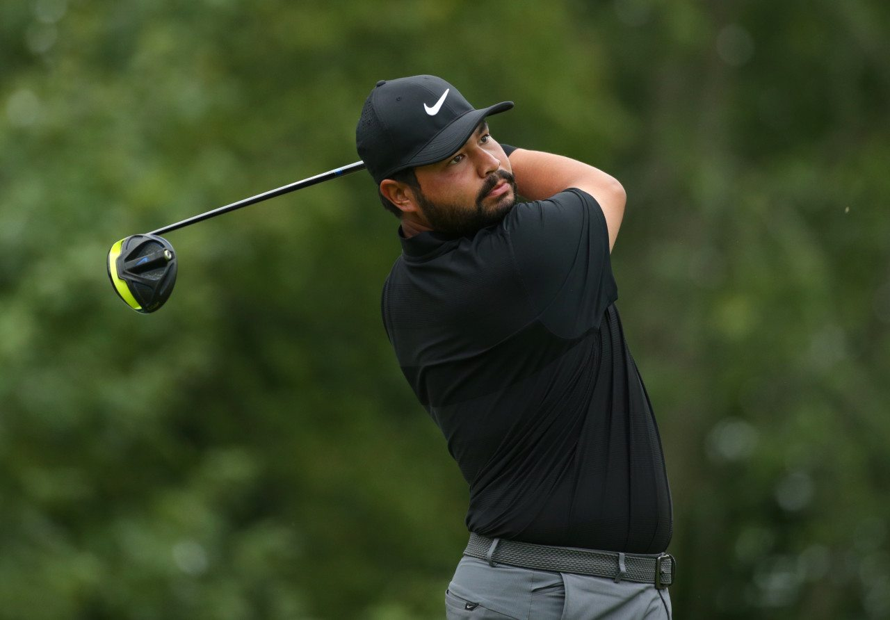 J.J. Spaun won his first Web.com Tour event Sunday at the Knoxville News-Sentinel Open.