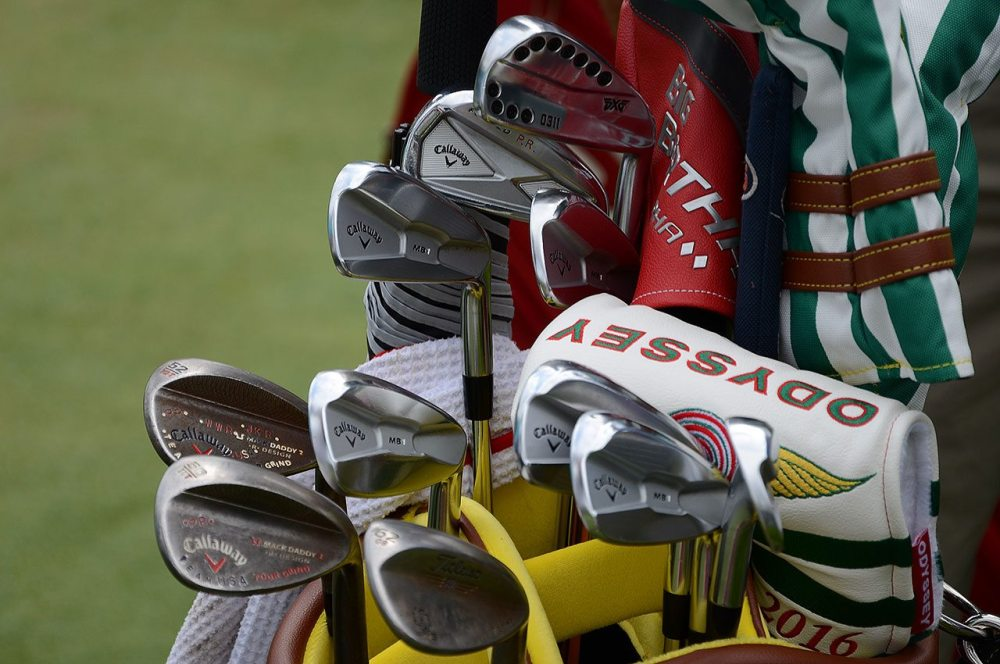 Patrick Reed's golf equipment