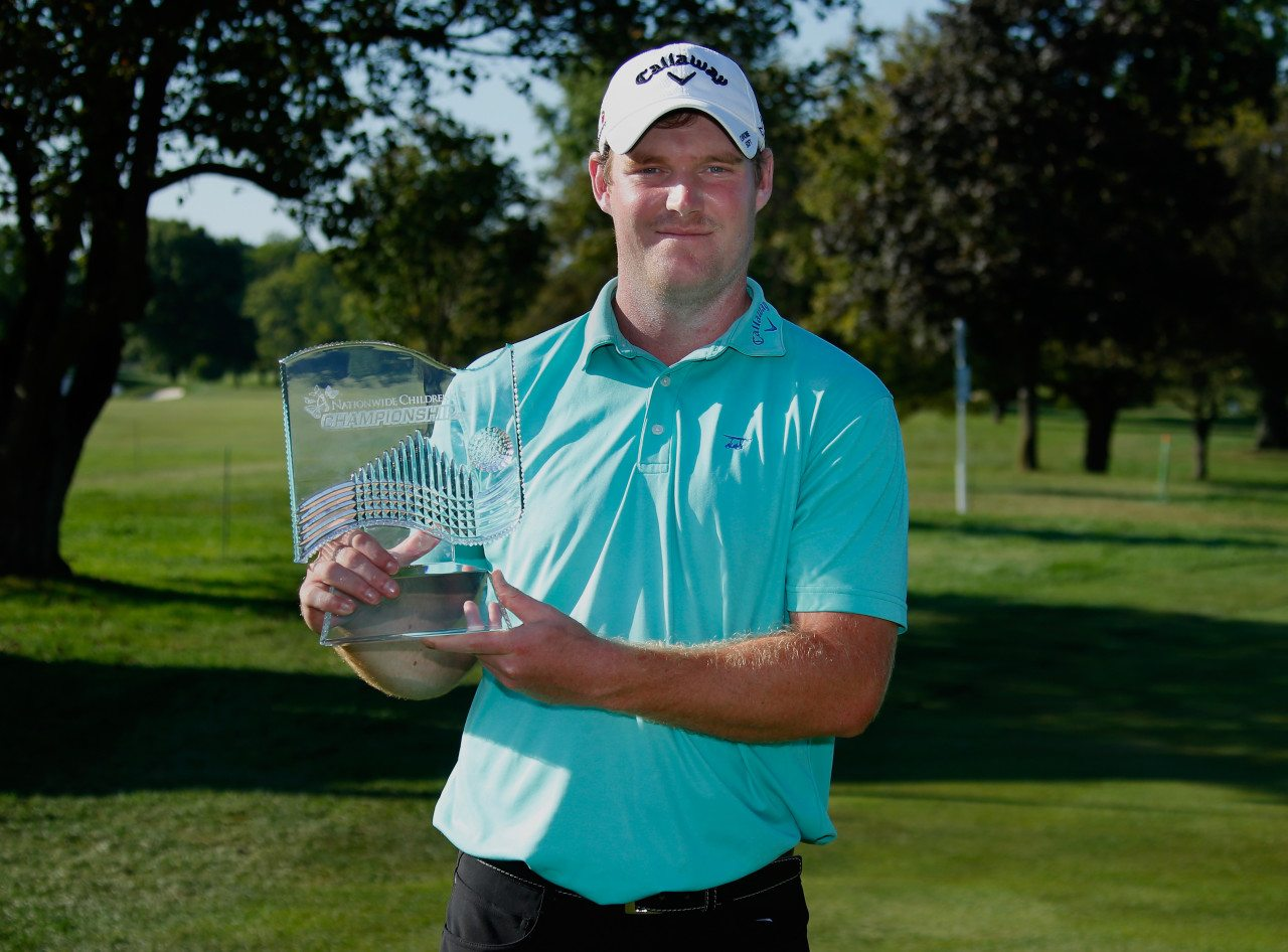 Grayson Murray clinched his first Web.com Tour victory at the Nationwide Children's Hospital Championship.