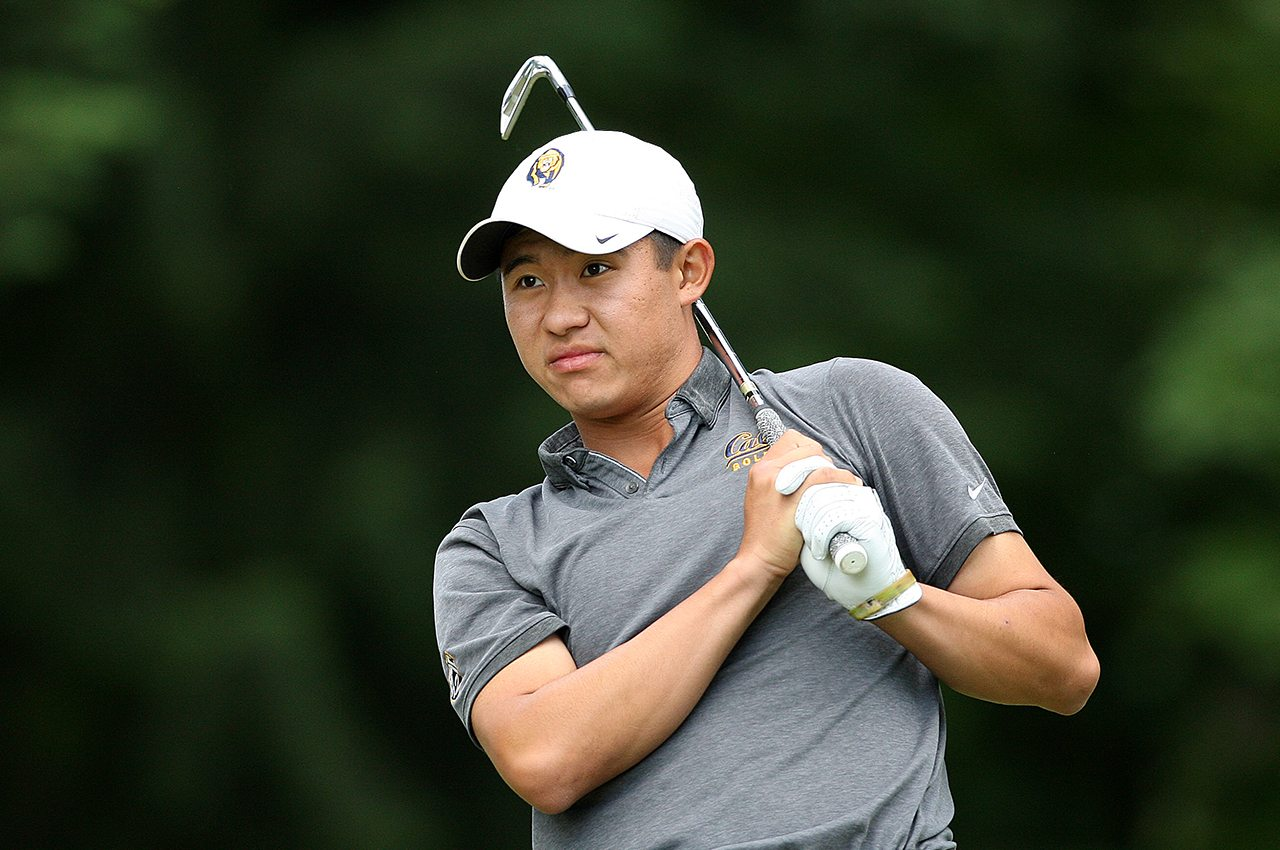 Cal's Collin Morikawa during the NCAA Championship at Eugene Country Club.