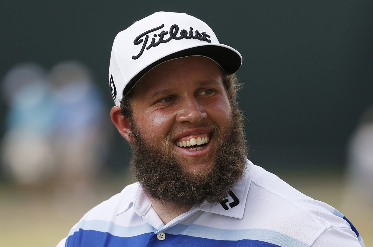 "Andrew ""Beef"" Johnston, pictured at the 2016 PGA Championship"