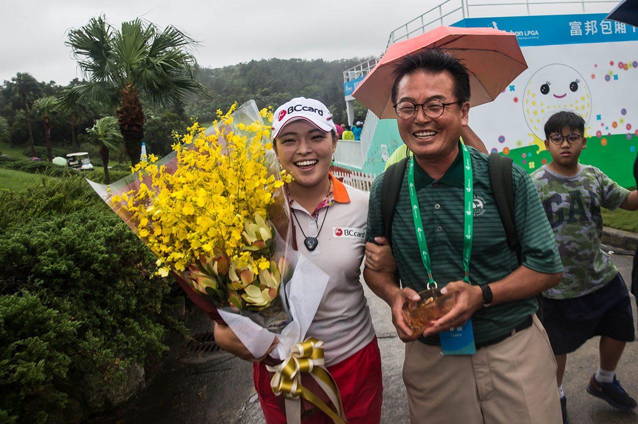 Ha Na Jang captured her third win of 2016 on Sunday.