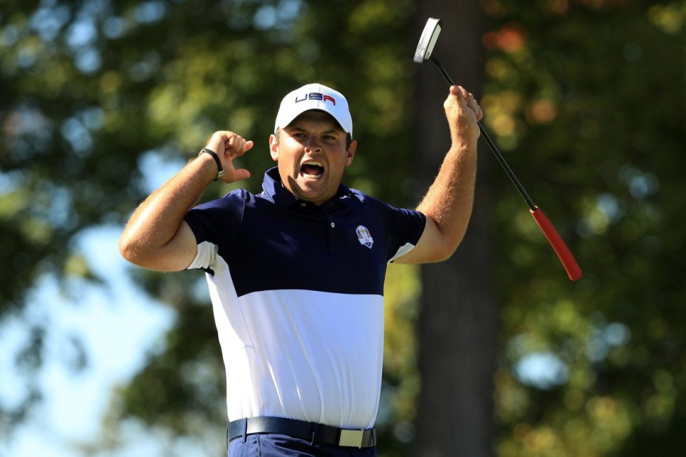 Patrick Reed captured what was probably the most important point of the Ryder Cup by beating Rory McIlroy in the first Sunday singles match at Hazeltine National Golf Club.