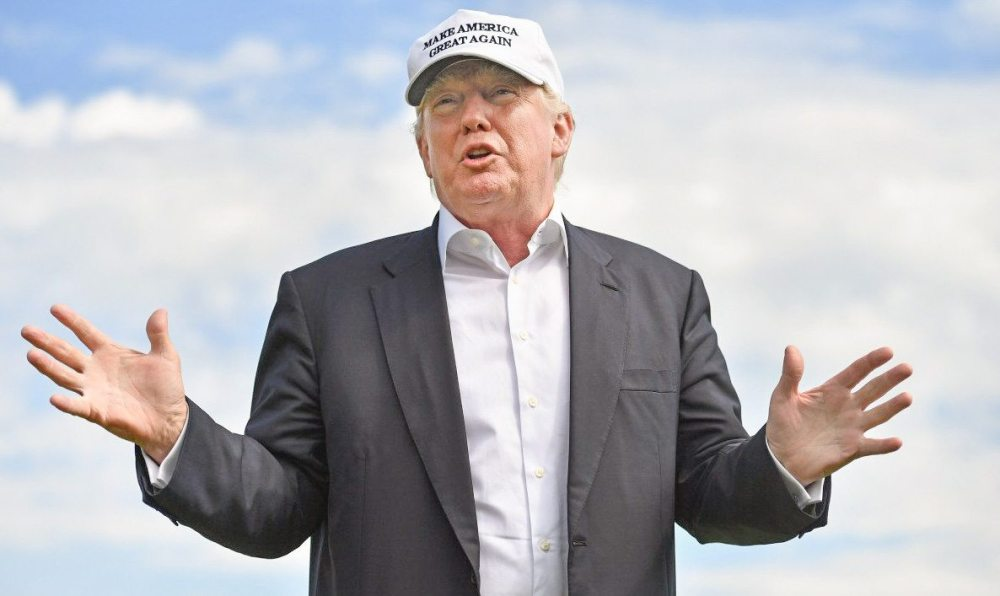 Donald Trump has plenty of critics and skeptics in the golf industry who believe his policies will effect positive change. (GETTY IMAGES )
