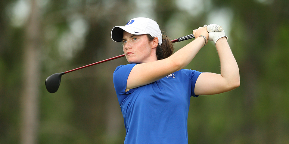 Leona Maguire of Duke during Sunday stroke play at the 2015 Women's NCAA Championship at The Concession in Bradenton, Fla.