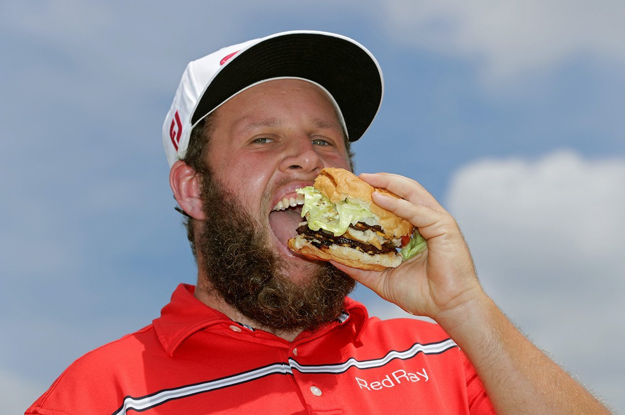 England's Andrew Johnston makes his mark on America.