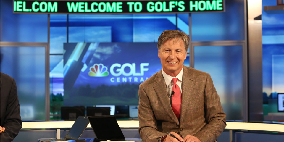 Brandel Chamblee, who served as lead analyst at Pebble Beach, is best known for his studio work.