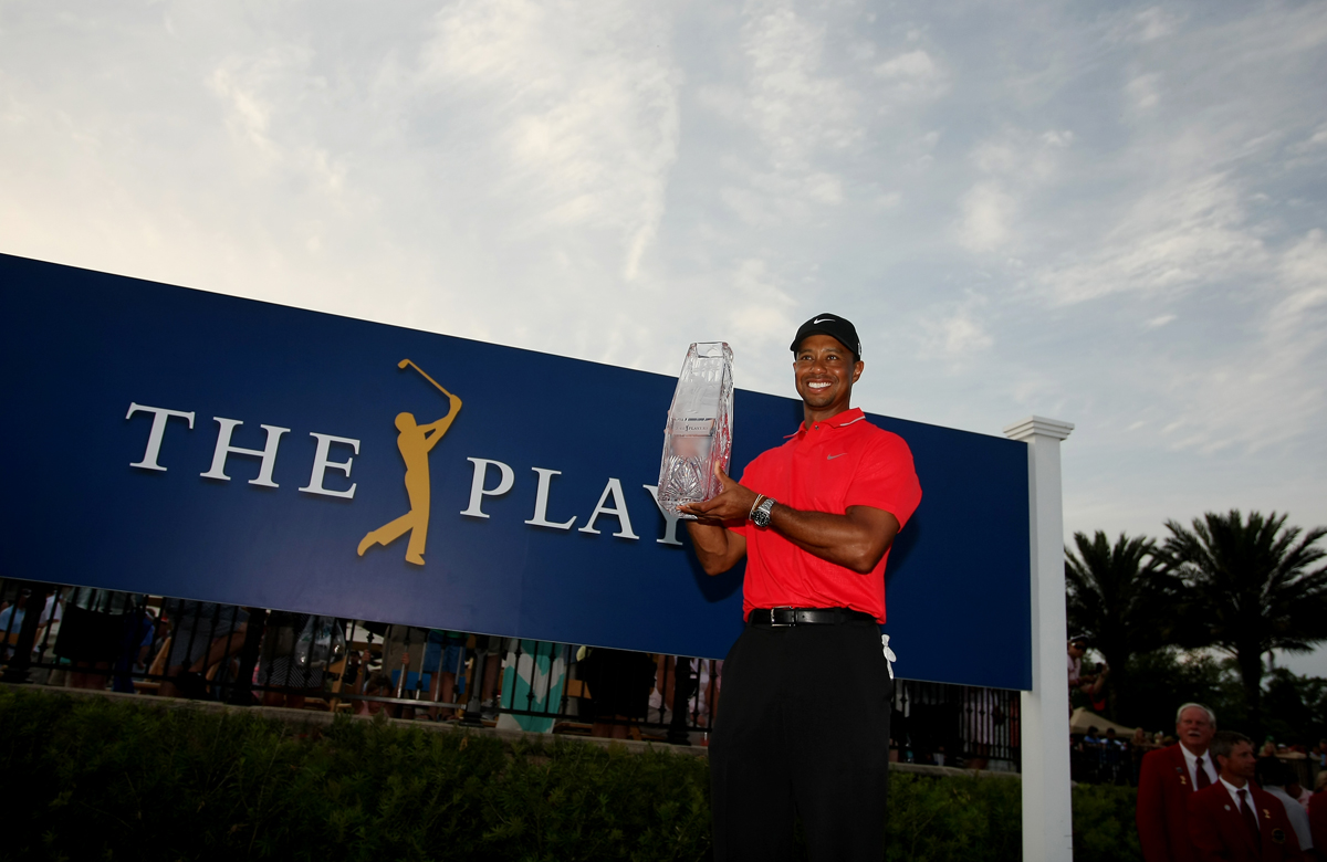The Players Championship was one of five wins for Woods in 2013.