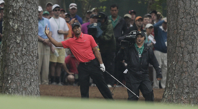 Tiger Woods-2013 Masters