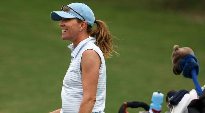 UCLA's head coach Carrie Forsyth
