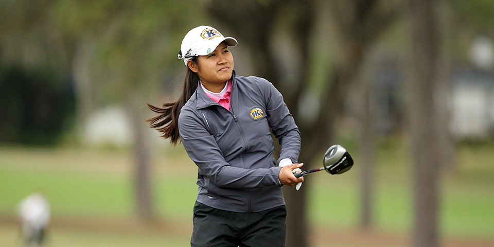 Kent State's Wad Phaewchimplee at the SunTrust Gator Women's Invite at Mark Bostick Golf Course in Gainesville, Fla.