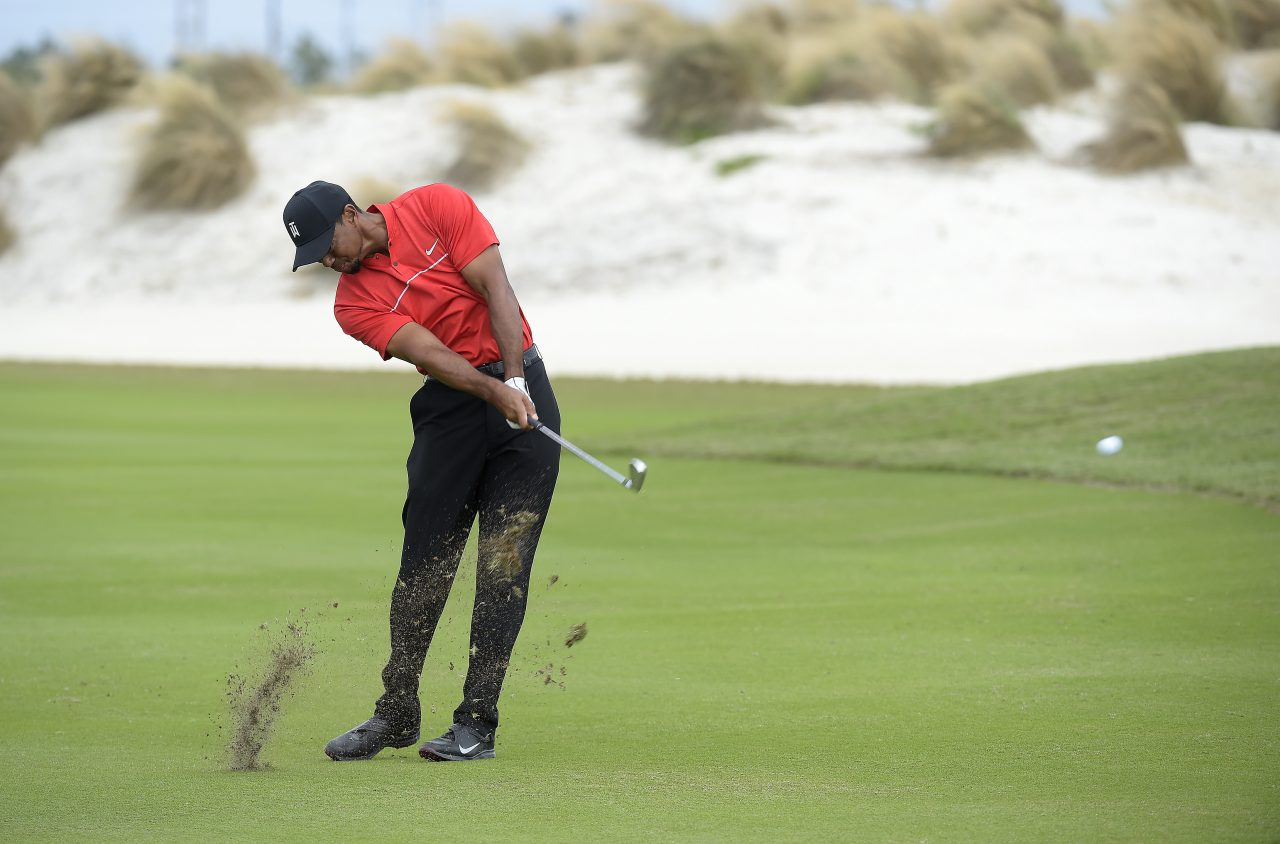 Woods' ballstriking in the Bahamas in December impressed many observers. (Stan Badz/PGA TOUR)