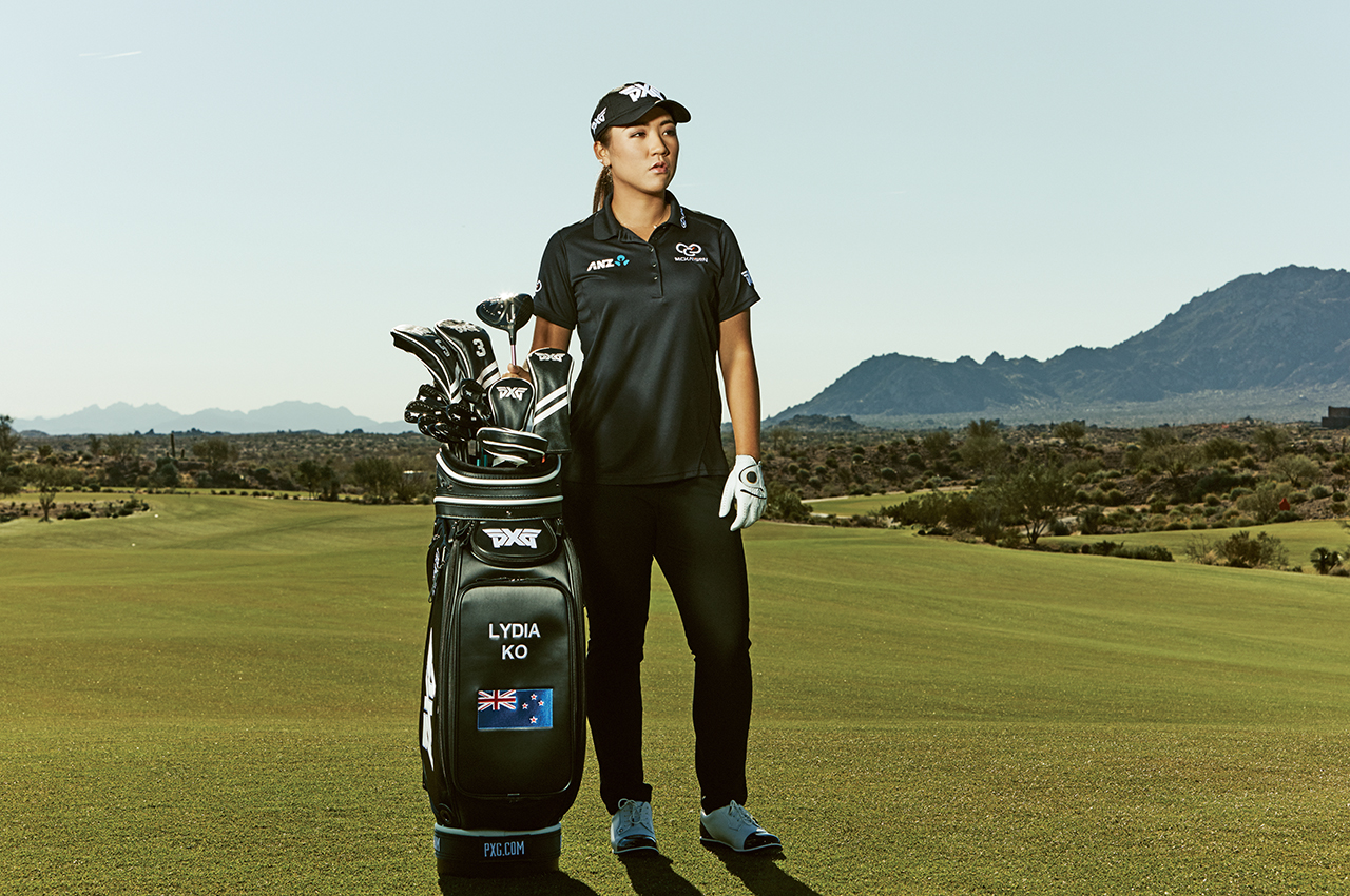 Lydia Ko has signed a contract to play PXG clubs.