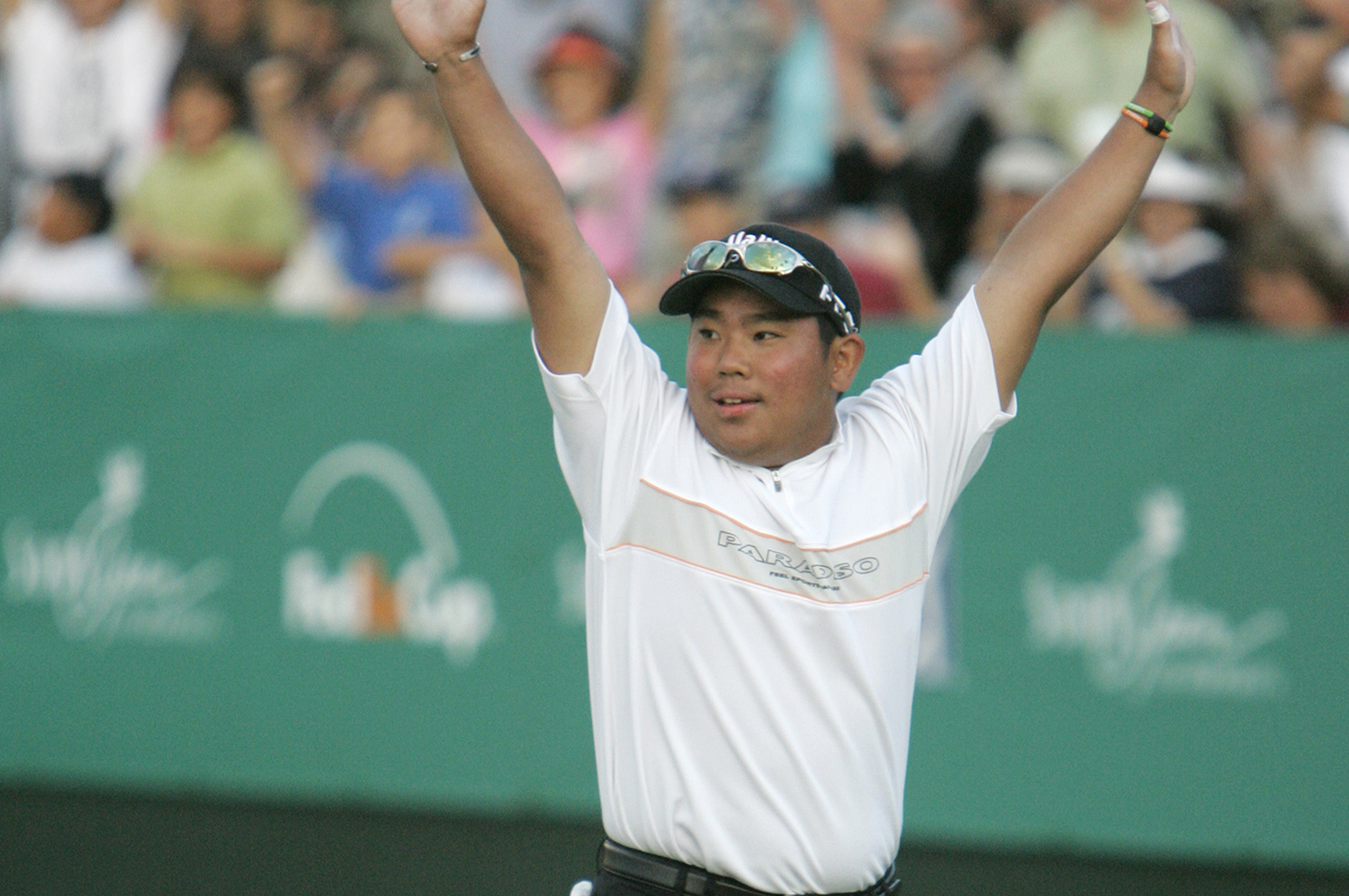 Tadd Fujikawa impressed as a 16-year-old at the 2007 Sony Open. (Associated Press)