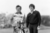 LYTHAM ST ANNES, ENGLAND - JULY 21:  Severiano Ballesteros of Spain with his caddie Dave Musgrove of England during the final round of the 108th Open Championship played at Royal Lytham and St Annes Golf Club on July 21, 1979 in Lytham St Annes, England.  (Photo by Peter Dazeley/Getty Images)