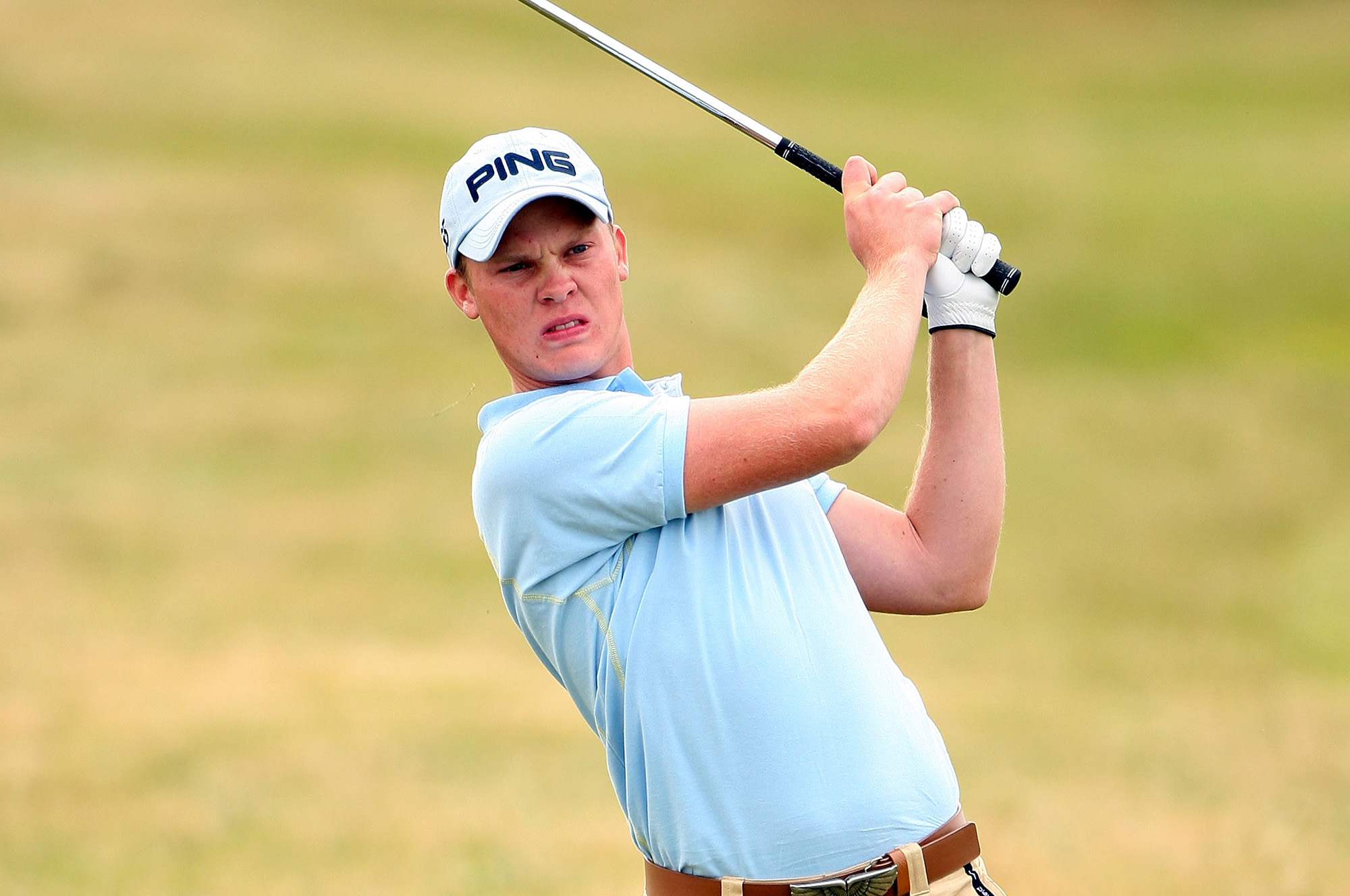 Danny Willett, pictured at the 2007 British Amateur (Getty Images)