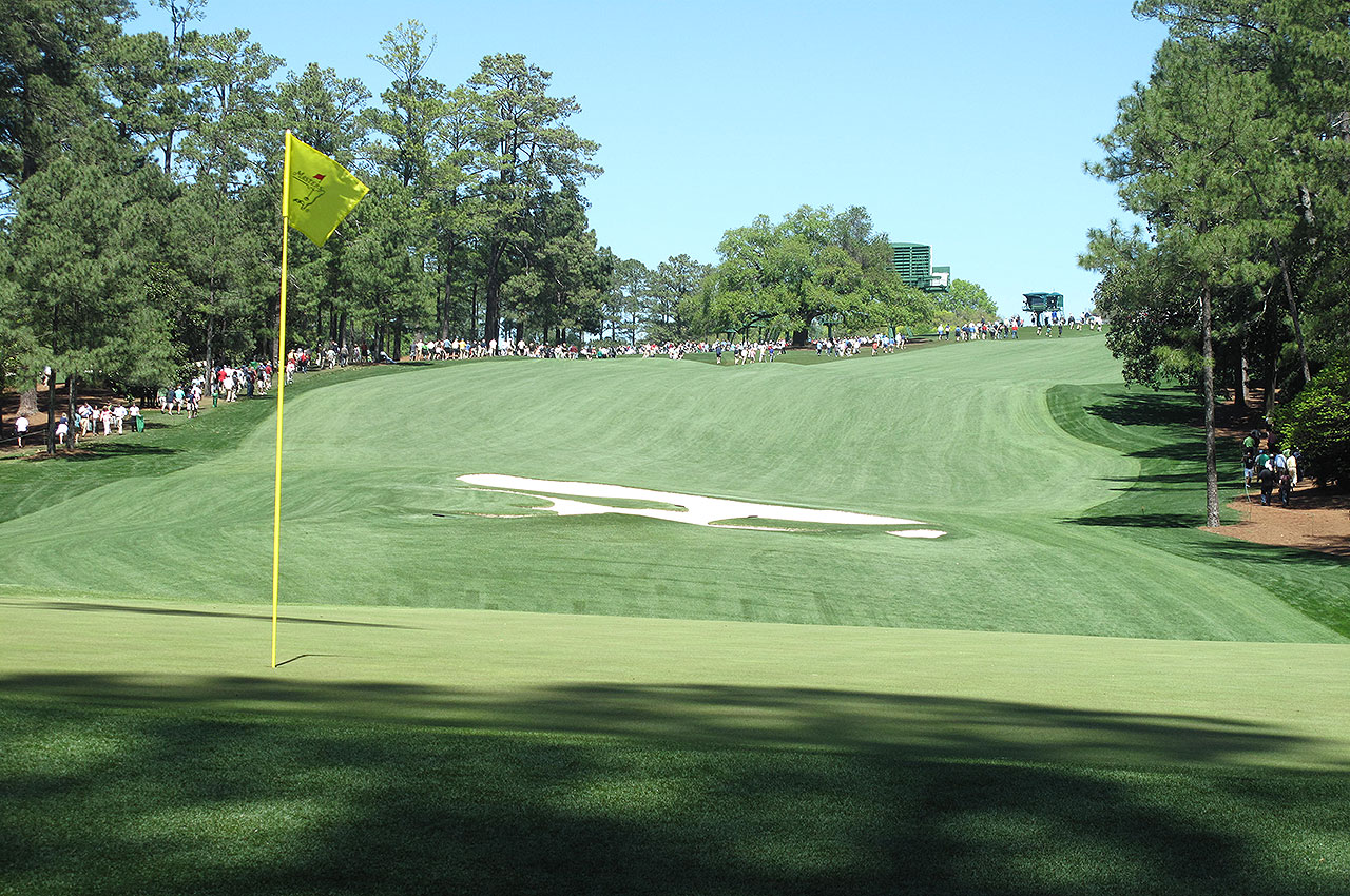The 10th green at Augusta National Golf Club