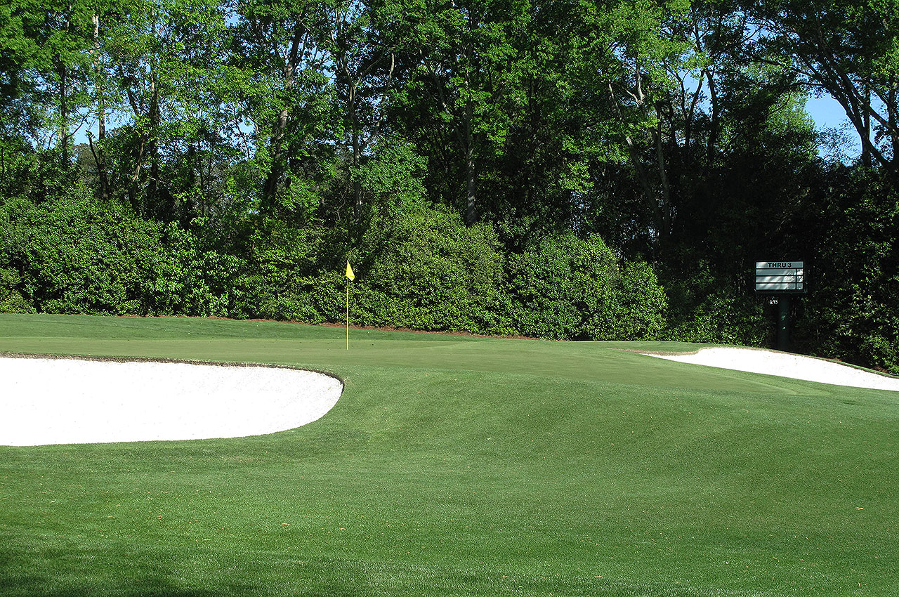 Augusta National fourth green