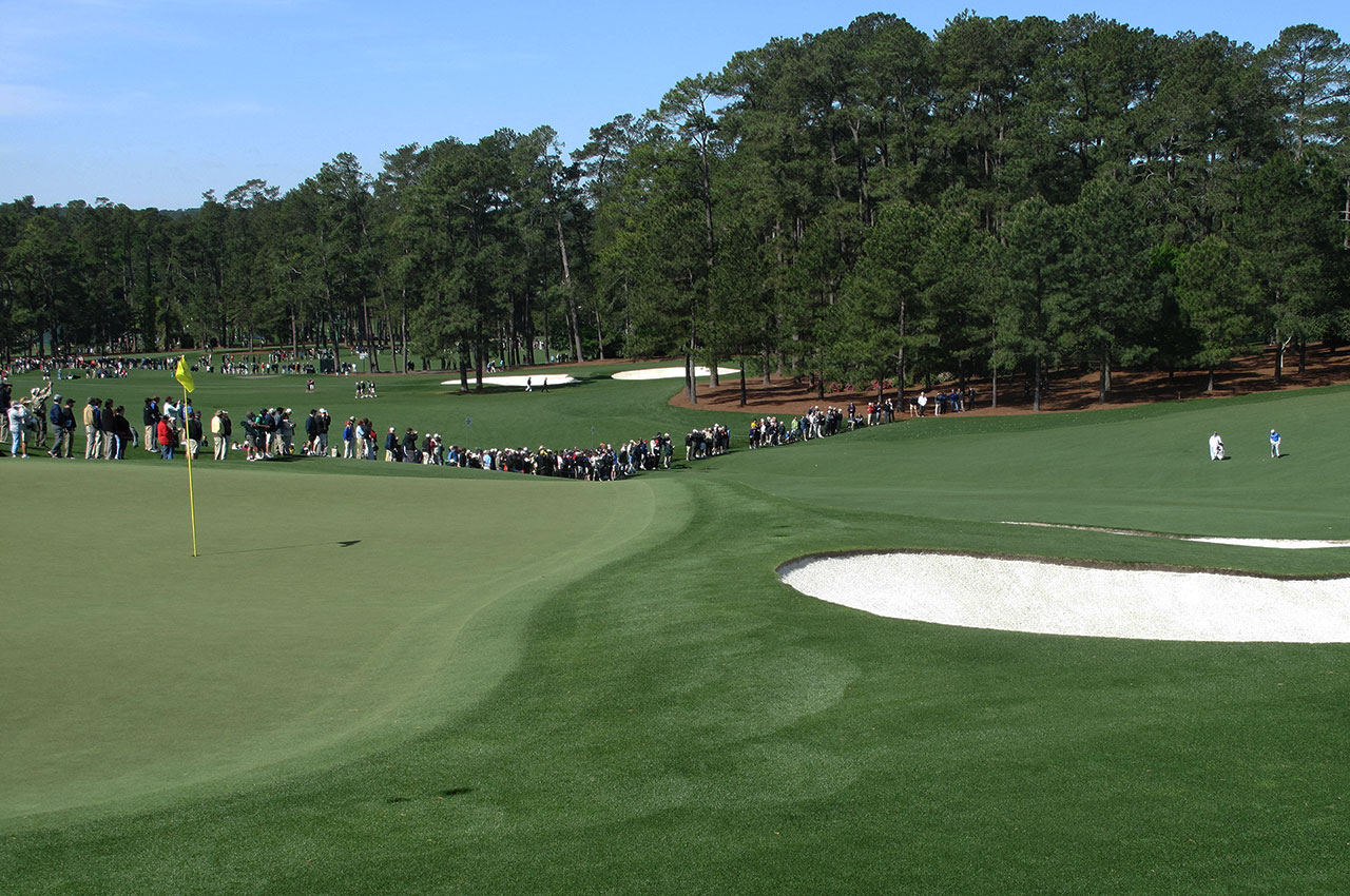 Augusta National's ninth green