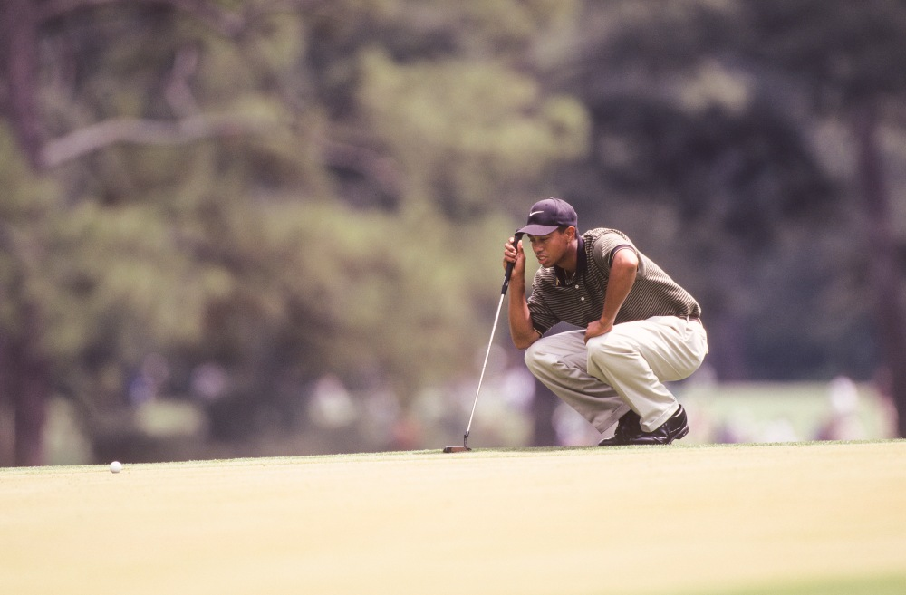 1997 Masters Tiger Woods