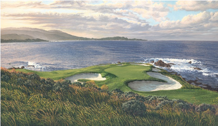 No. 7 at Pebble Beach Golfweek Top 100 courses to play in USA