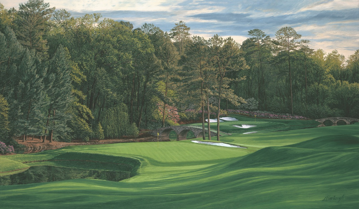 Nos. 11 and 12 at Augusta National