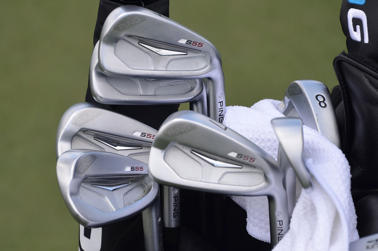 Angel Cabrera's Ping S55 irons