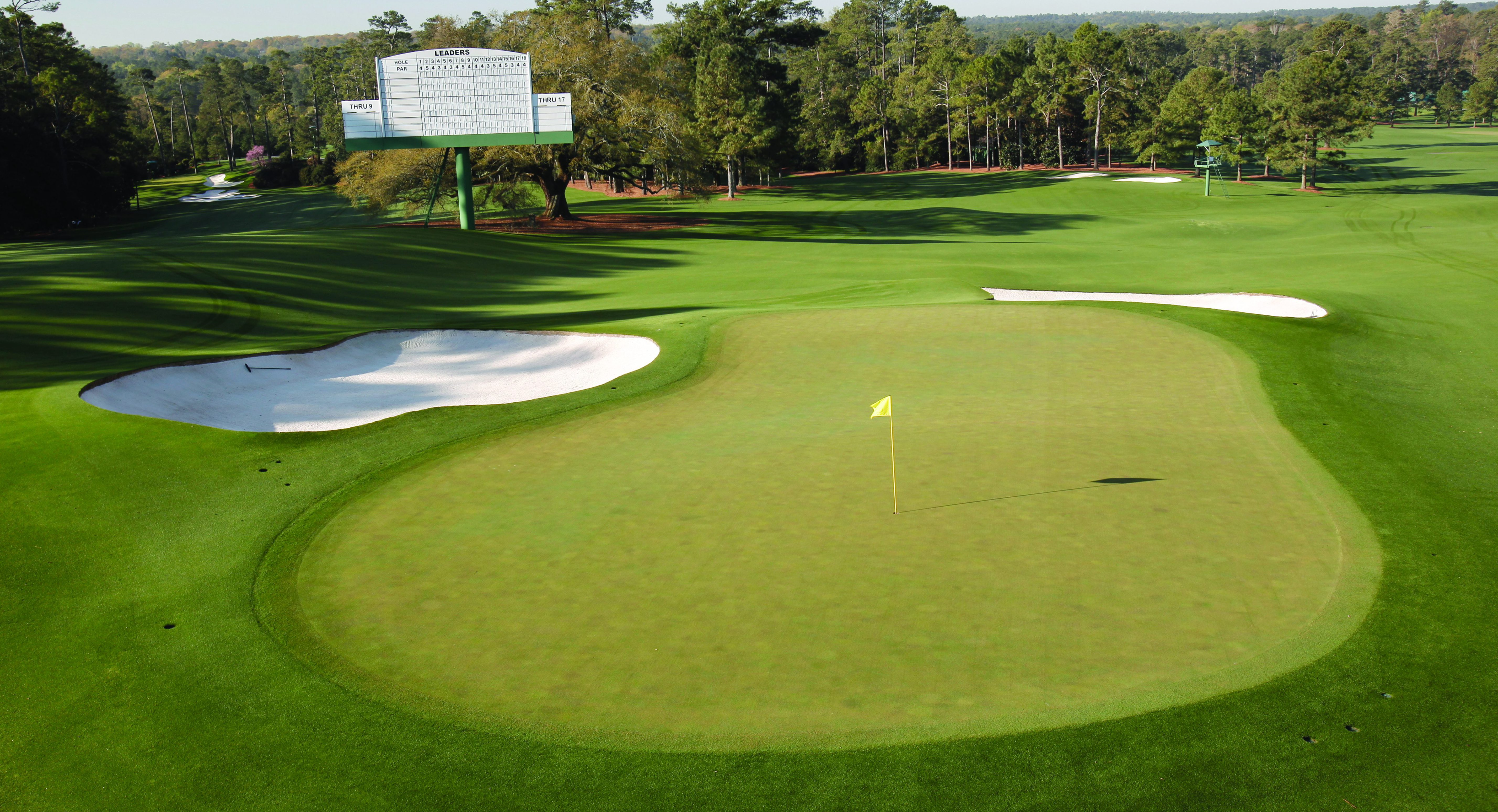 2017 Masters Augusta National Hole No. 18