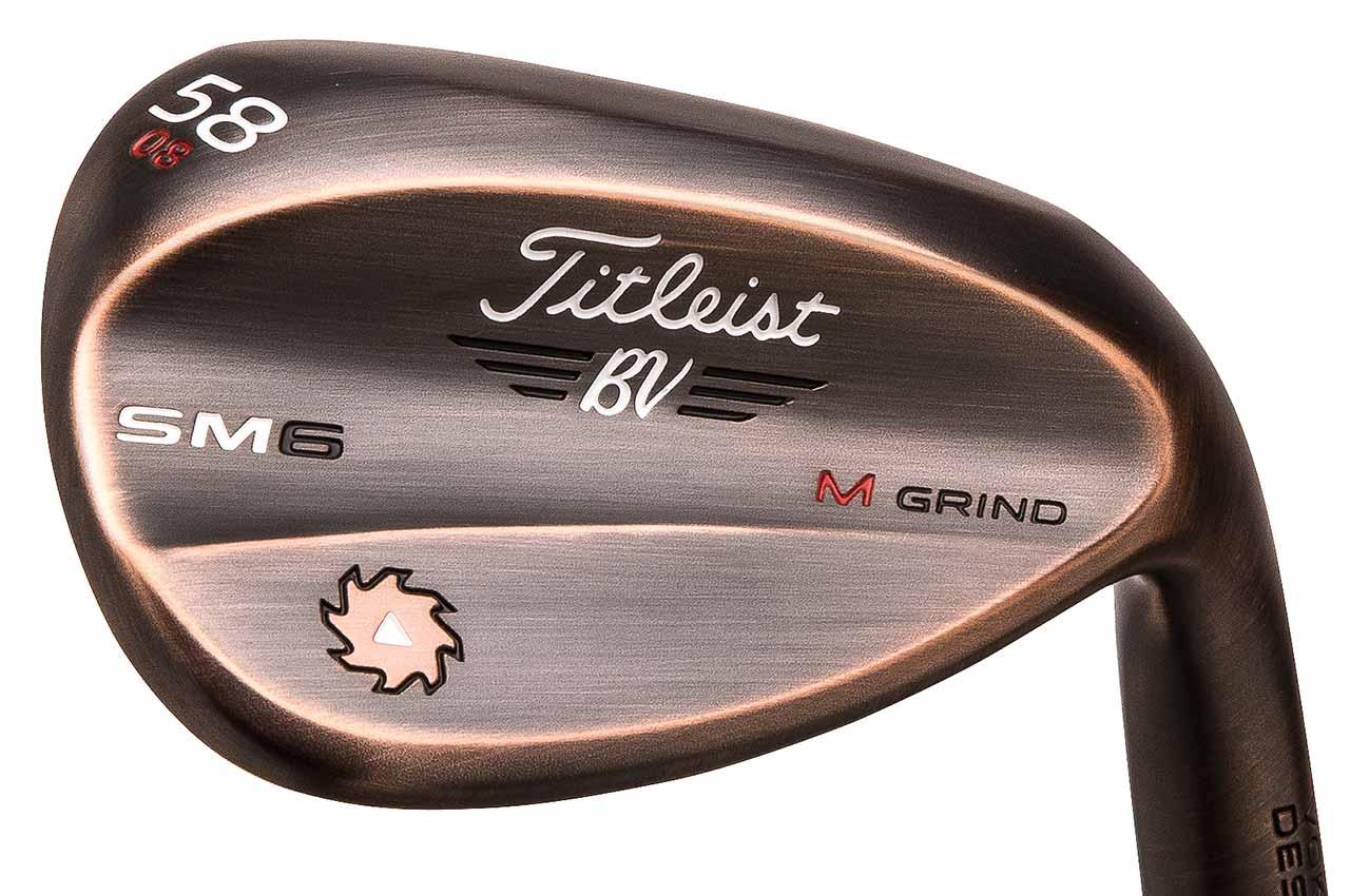 Vokey Design SM6 Brushed Copper wedge