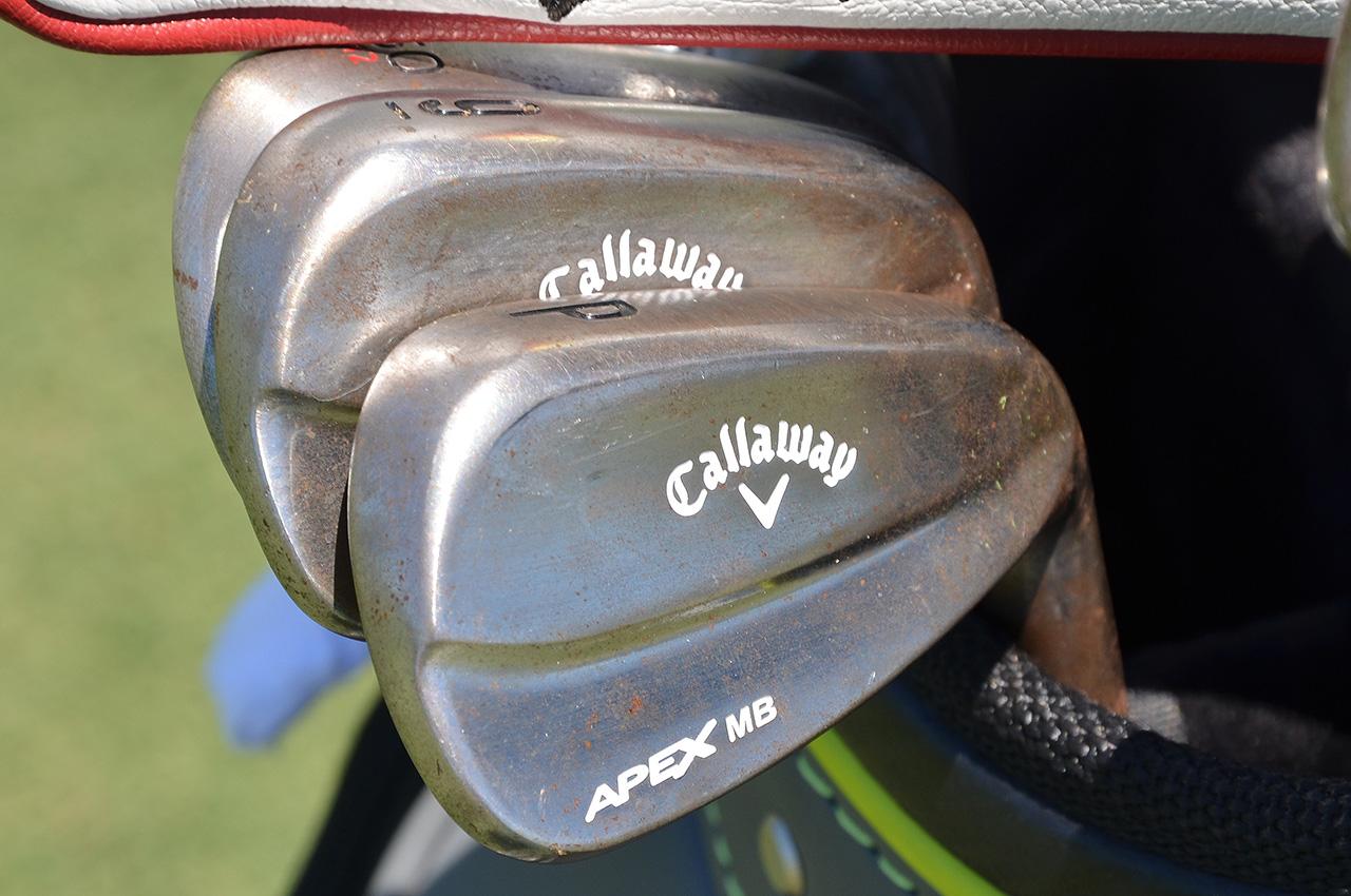 Boo Weekley's Callaway irons