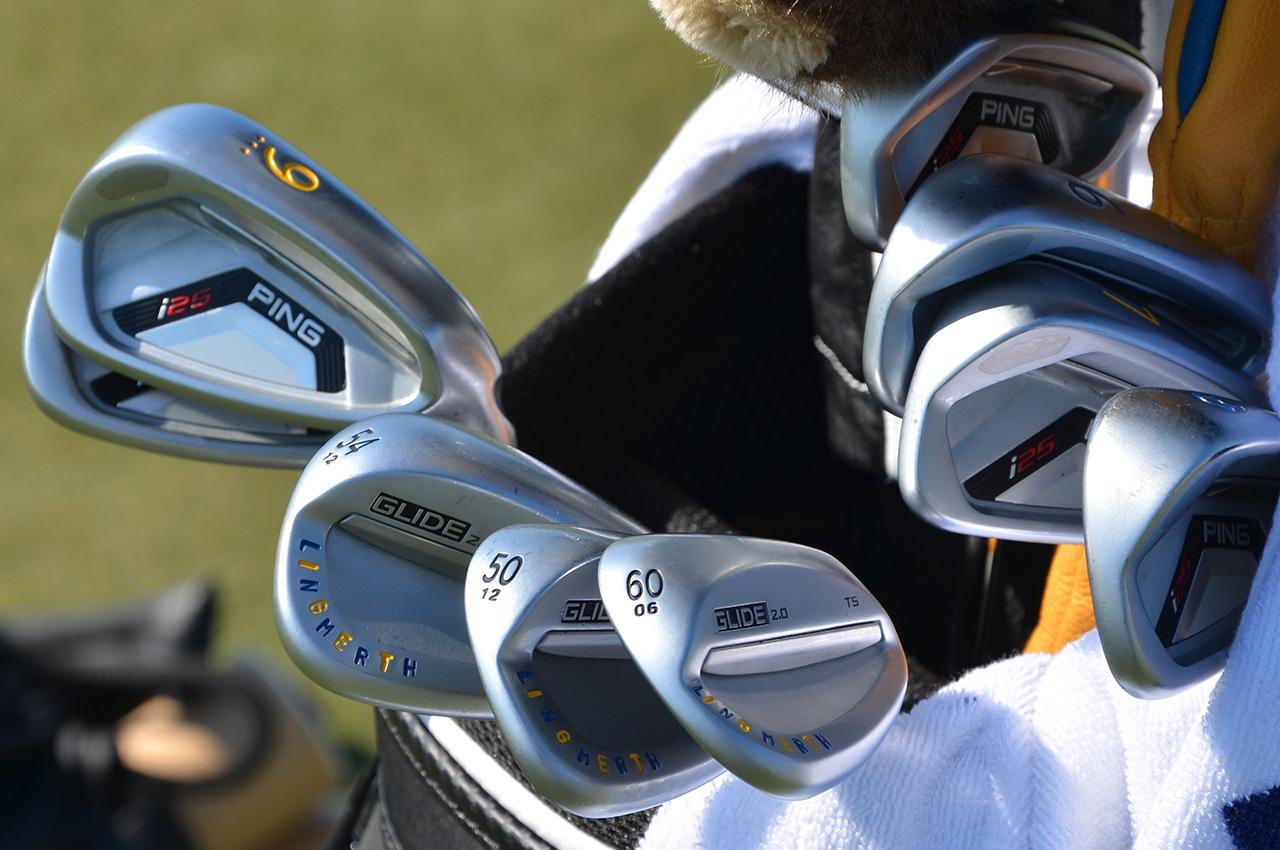 David Lingmerth's Ping equipment