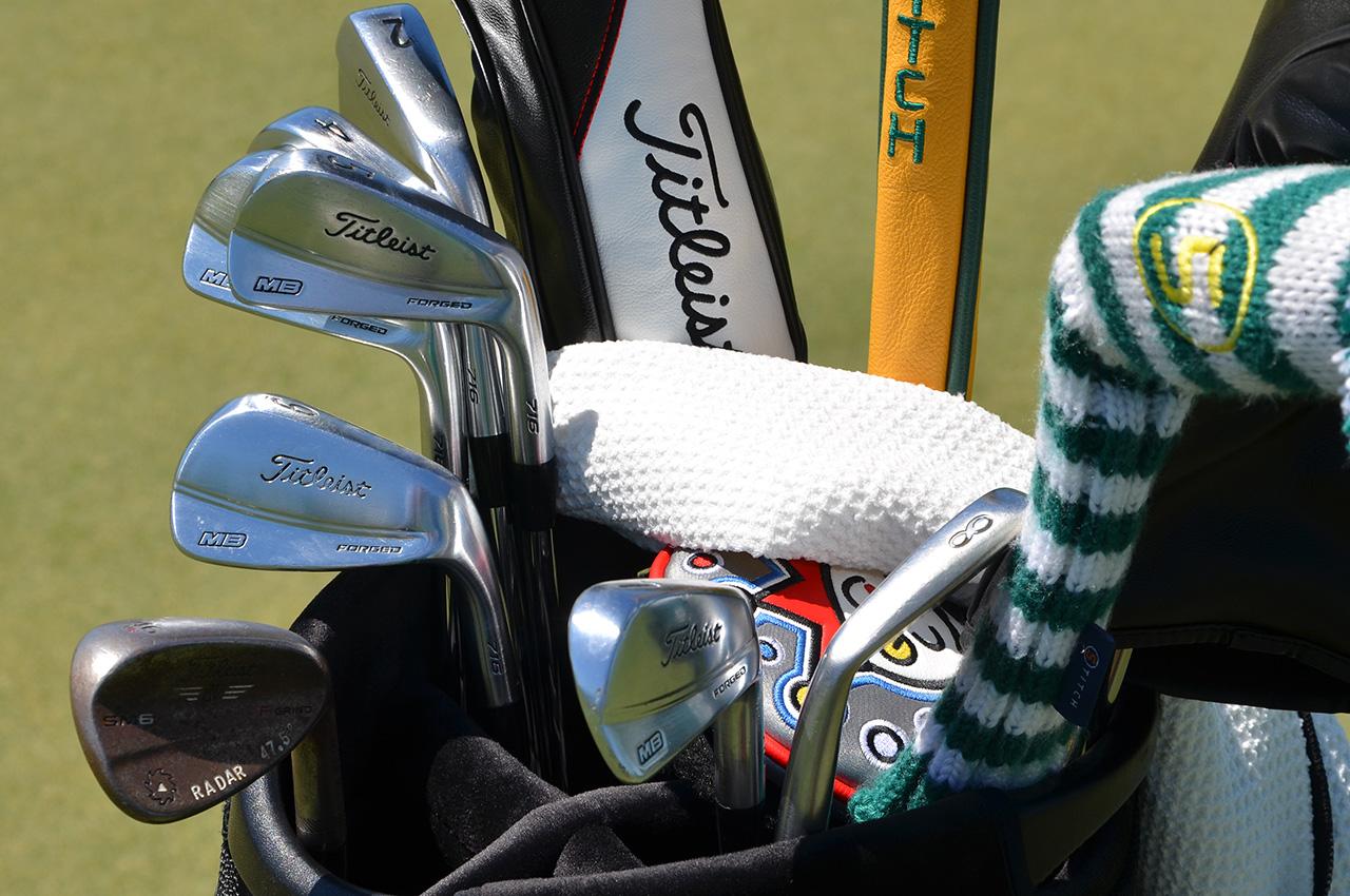 Justin Thomas's Titleist equipment