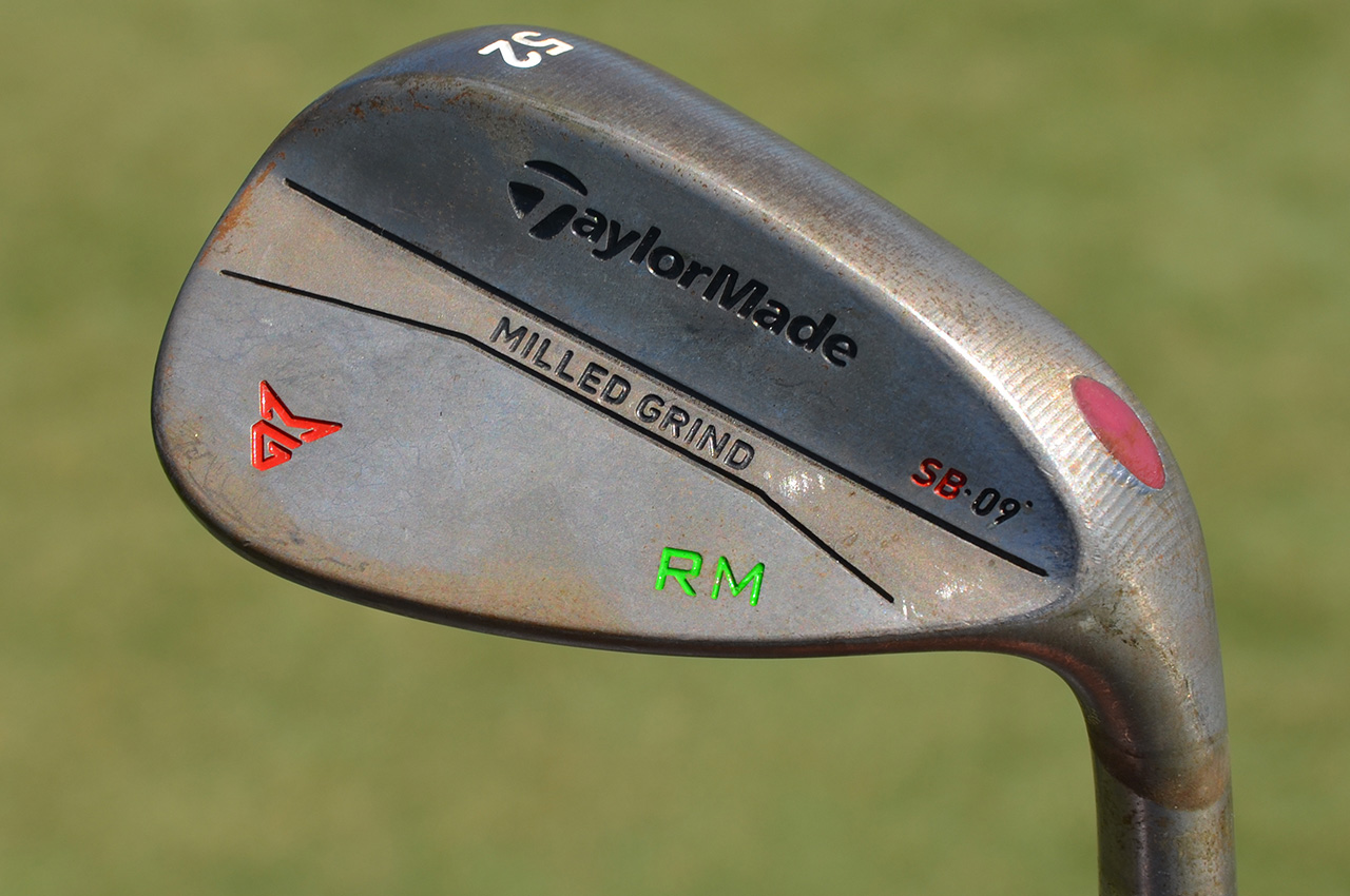 Rory McIlroy's TaylorMade gap wedge.