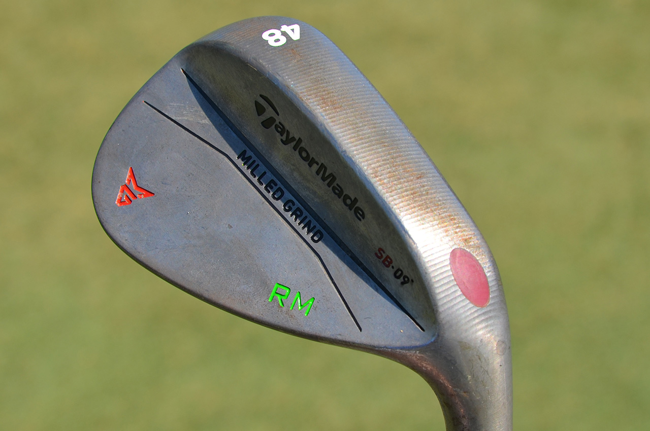 Rory McIlroy's TaylorMade pitching wedge.
