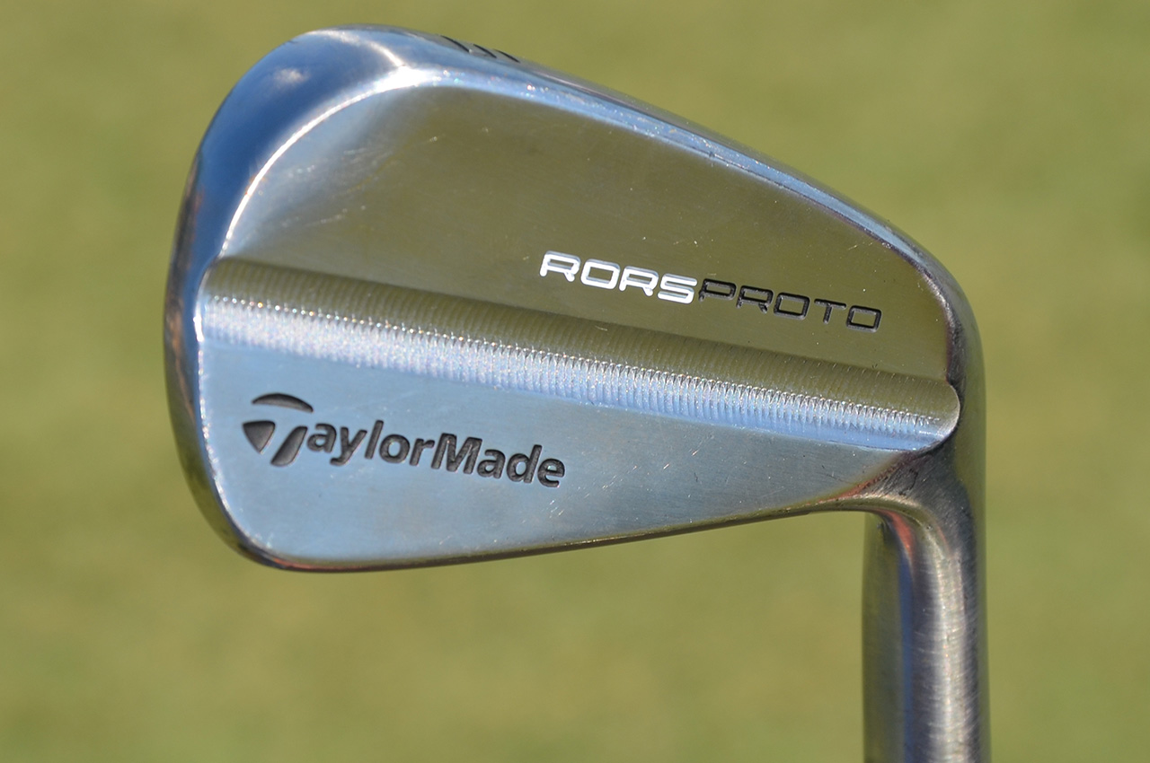 Rory McIlroy's prototype TaylorMade 5-iron