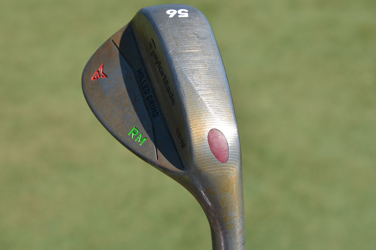 Rory McIlroy's TaylorMade sand wedge